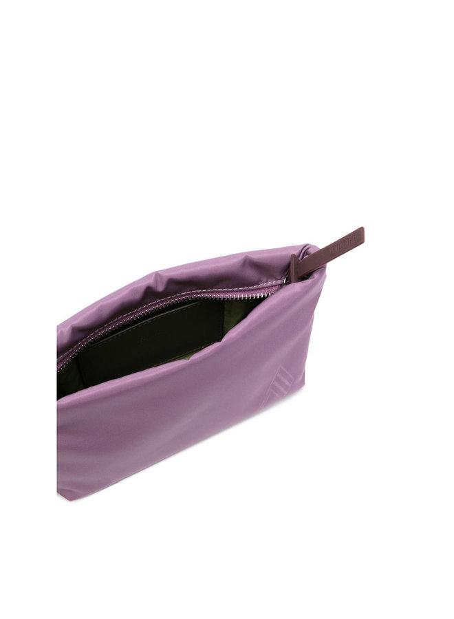 Mini Bag with Chain Strap in Mauve