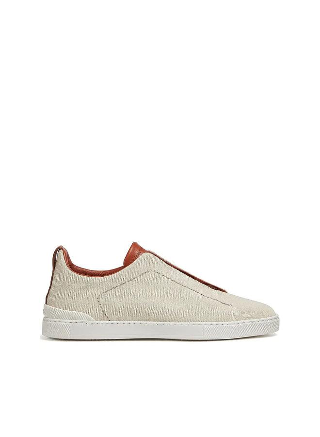 Triple Stitch EZ Couture XXX Low Top Sneakers