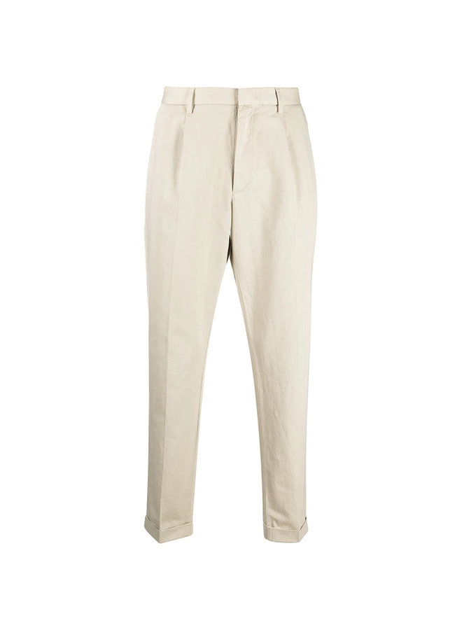 Z Zegna Slim Tailored Pleated Pants