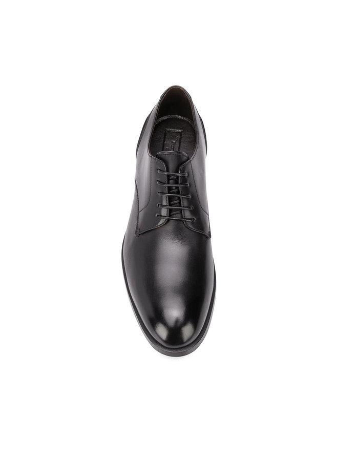 Ermenegildo Zegna Derby Shoes in Leather in Black