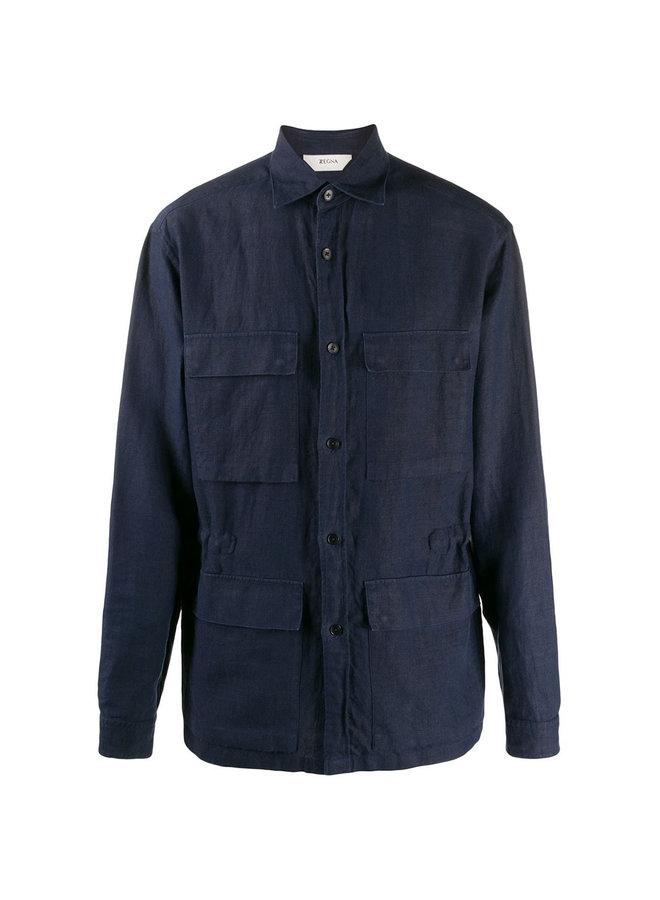 Z Zegna Sahariana Shirt Jacket
