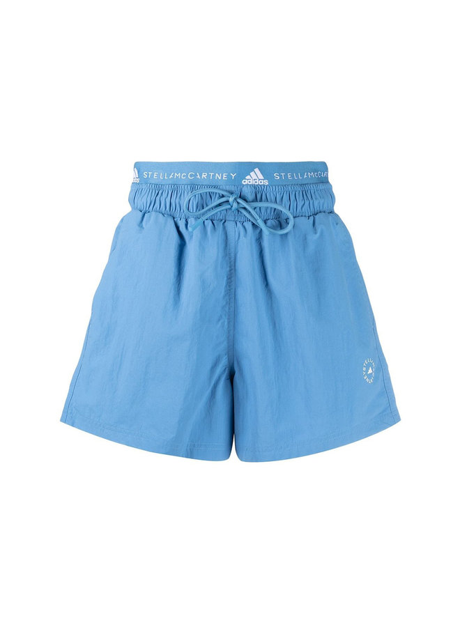 Logo High Waisted Shorts
