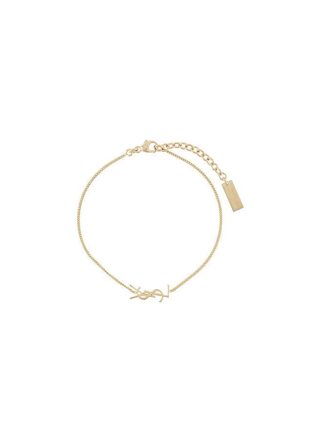 Monogram Bracelet in Gold