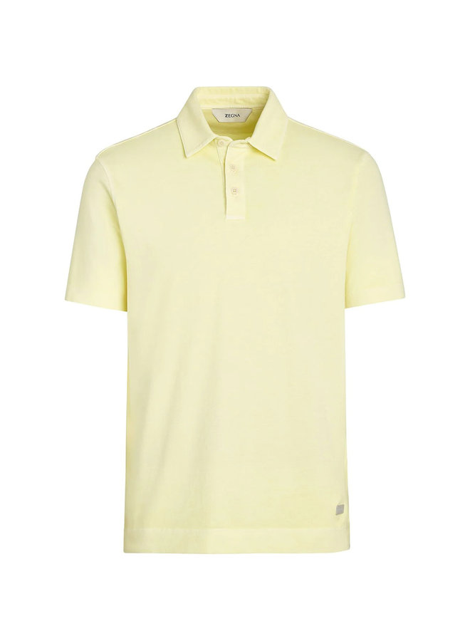 Z Zegna Short Sleeve Polo T-Shirt