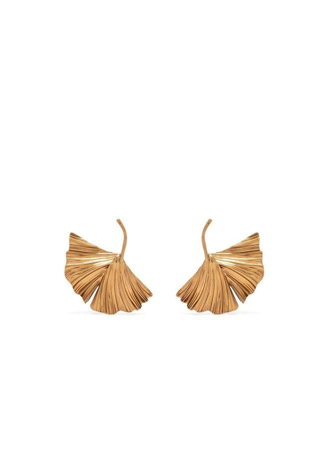 Oversized Leaf Earrings