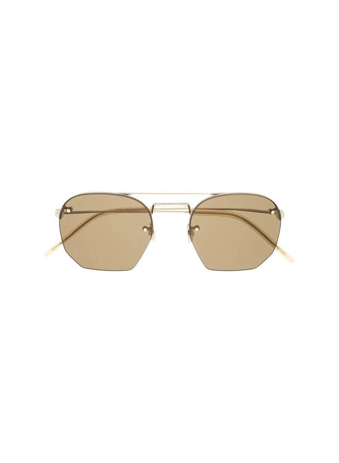 Aviator Frame Sunglasses