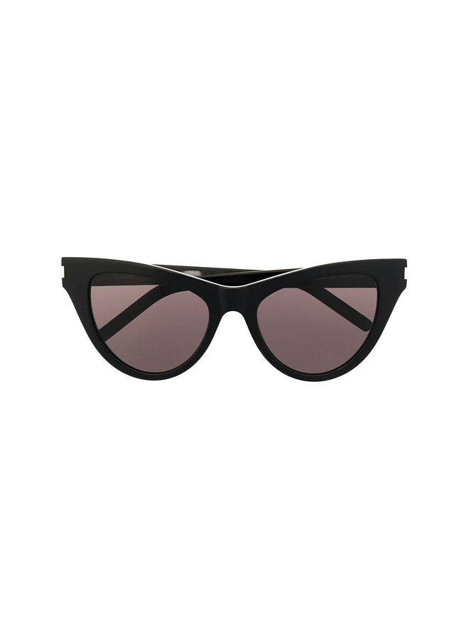 Cat-eye Sunglasses in Black