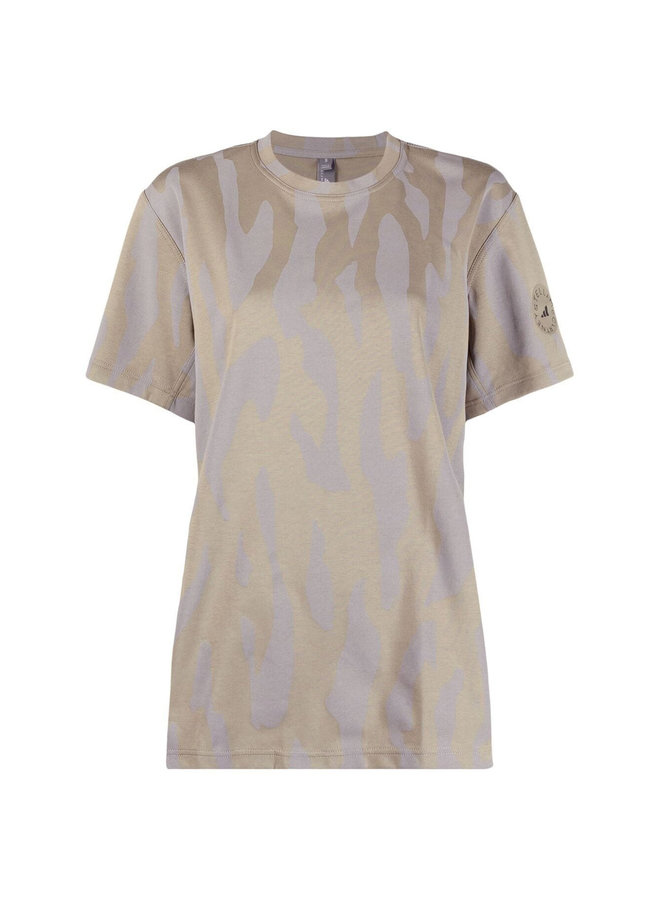 T-shirt in Animal Zebra Print