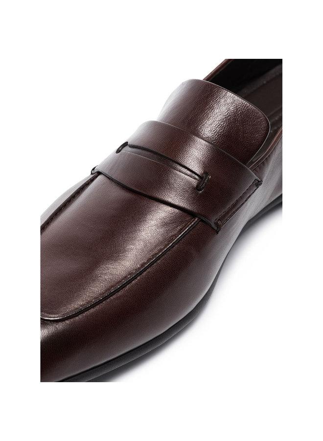Ermenegildo Zegna L'asola Loafers in Leather in Brown