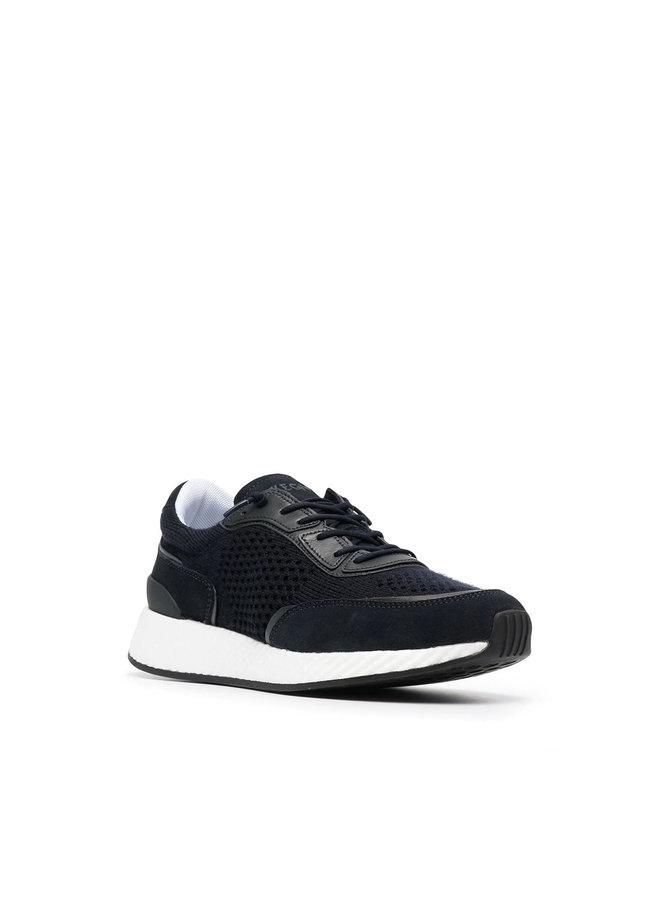 Z Zegna Techmerino Low Top Sneakers in Navy