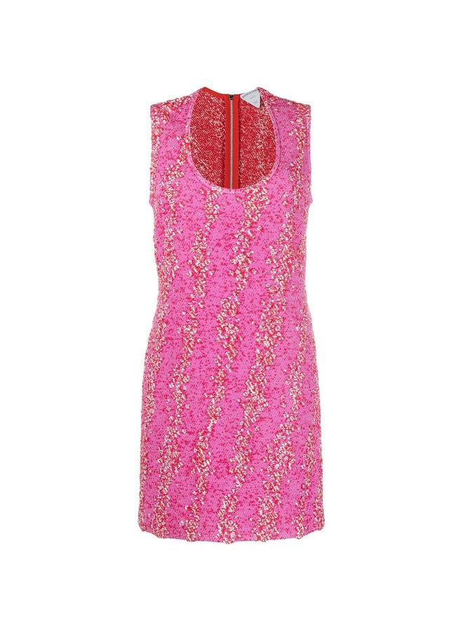 Mini Dress in Bouclé Design