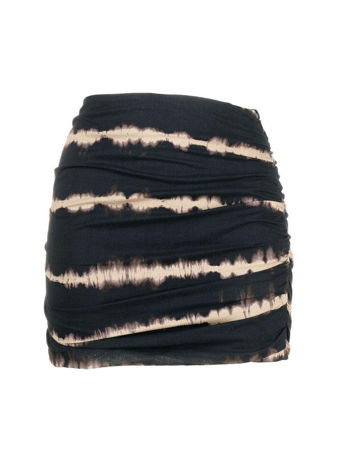 Mini Ruched Skirt