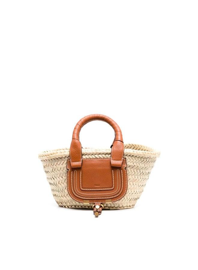 Small Marcie Basket Tote Bag
