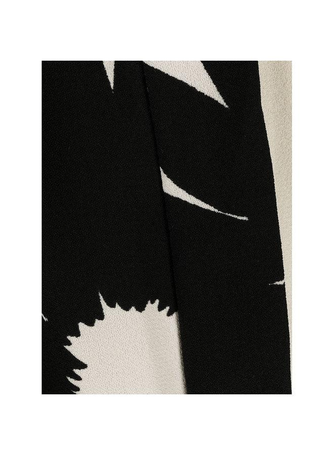 Full Length Printed Jumpsuit in Cream