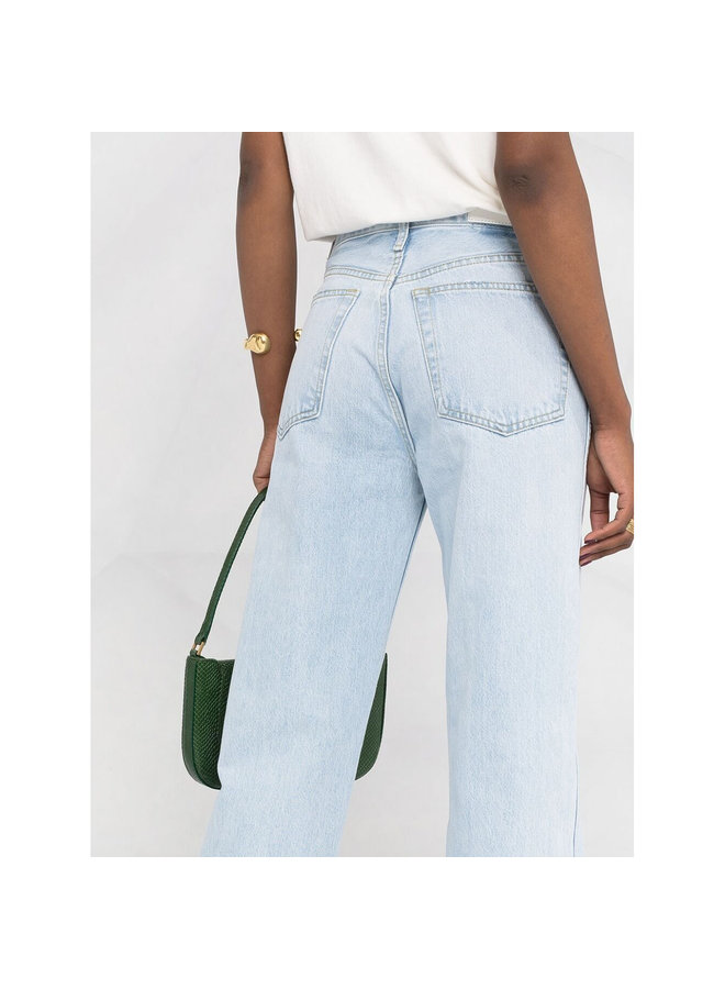 High Rise Loose Fit Jeans in Perfect Light Indigo