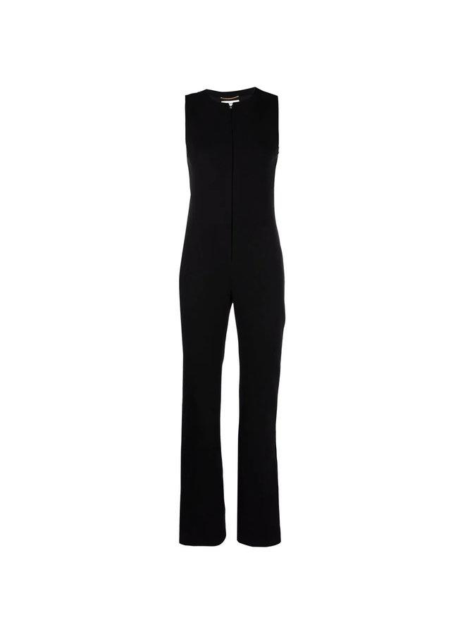 Full Length Sleeveless Jumpsuit