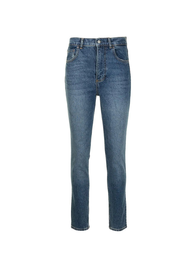 The Zachary High Waisted Slim Fit Jeans