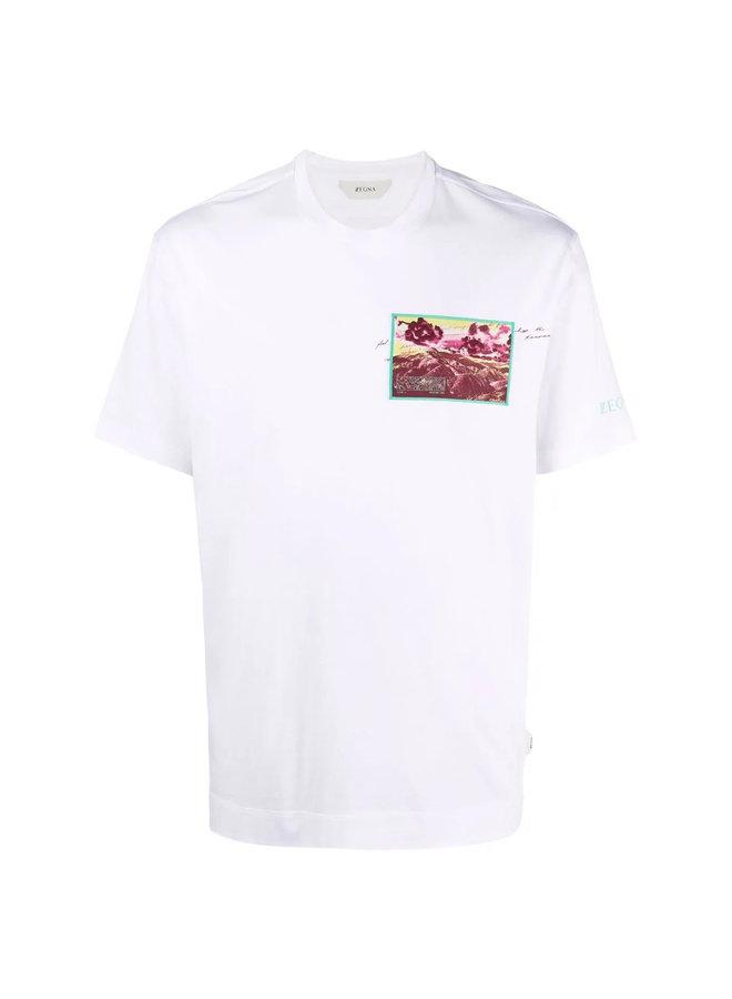Z Zegna Graphic Print T-shirt
