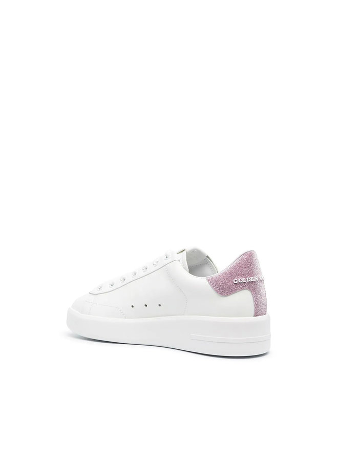 Hi Star Low Top Sneakers in Leather in White
