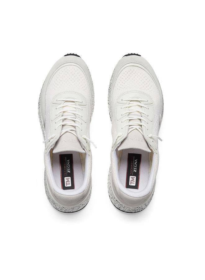 Z Zegna Techmerino Low Top Sneakers in White