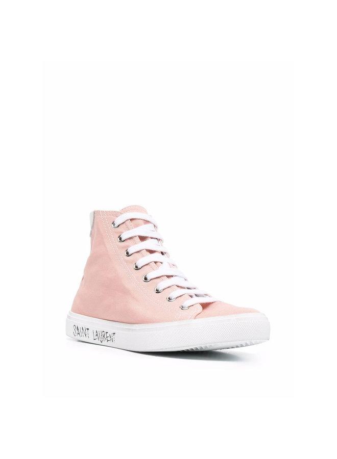 Malibu High Top Sneakers in Pink