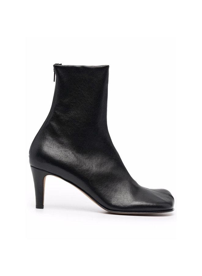Mid Bloc Heel Boots