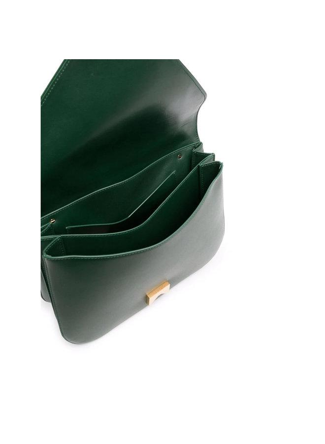 Mount Large Shoulder Bag in Green/Gold