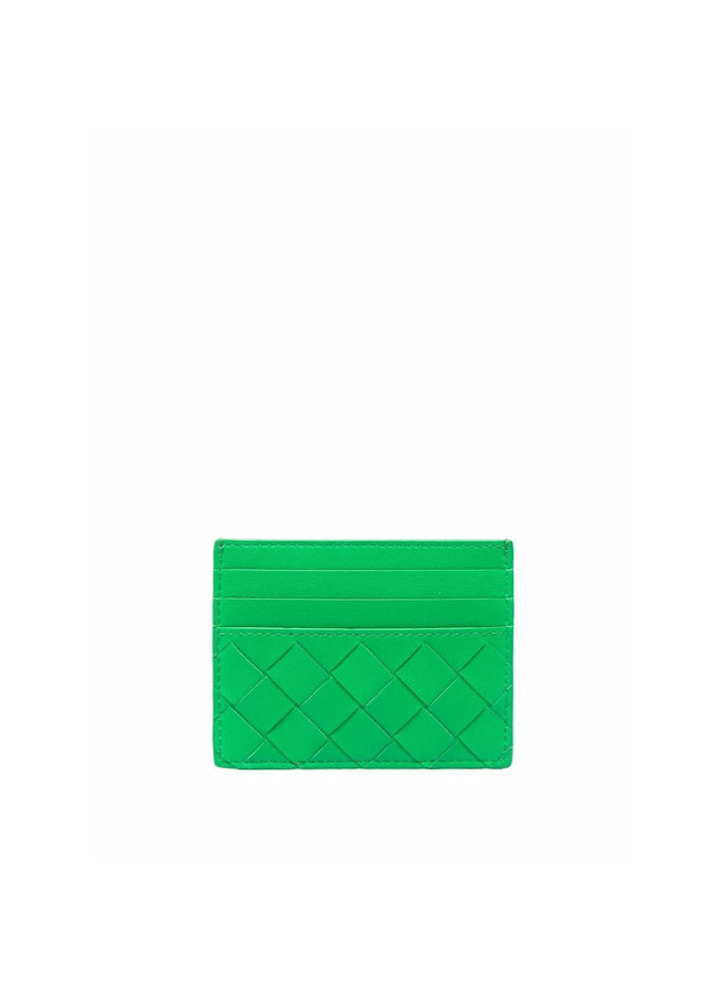 CC Holder in Green/Gold