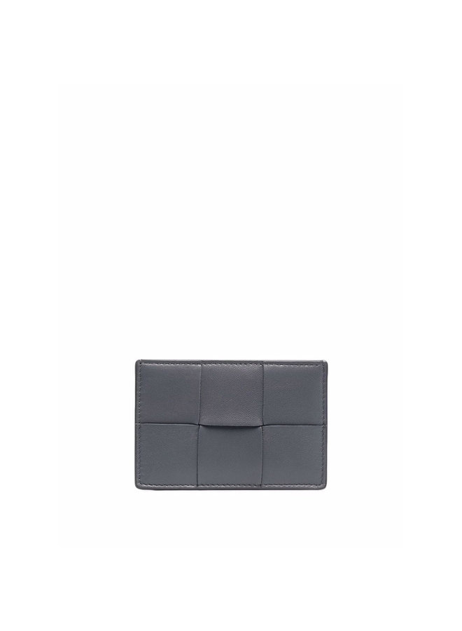 Maxi Intrecciato CC Holder in Grey/Gold
