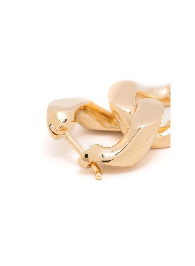 Chain Drop Earrings in Gold