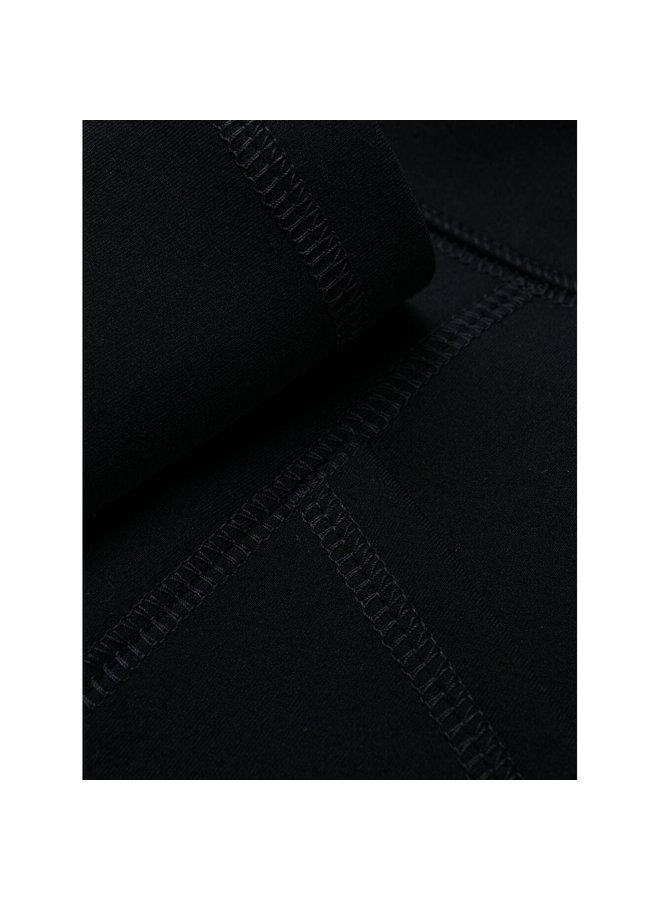 Logo Print Leggings in Navy