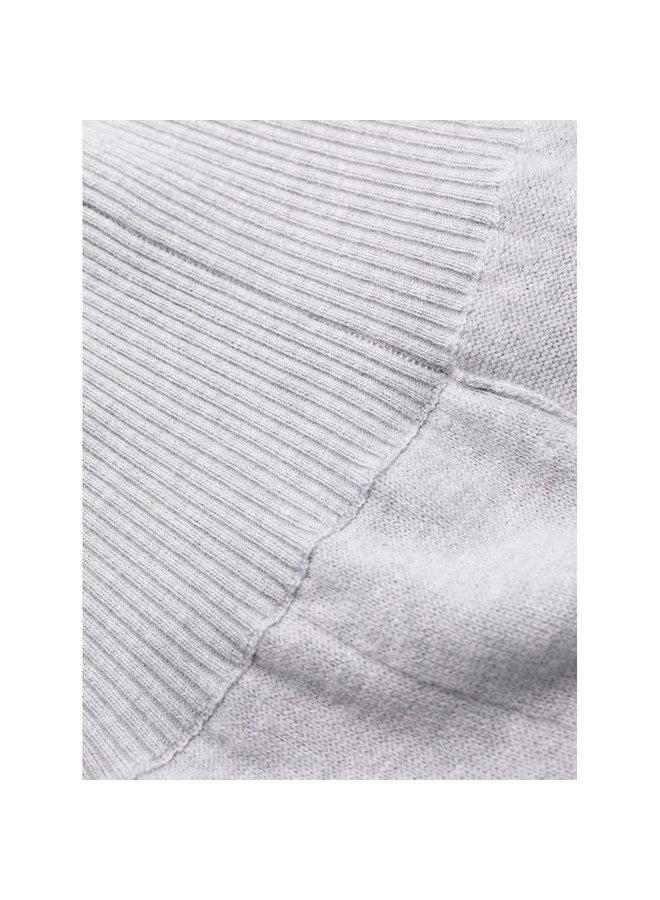 Casual Track Pants in Grey Melange