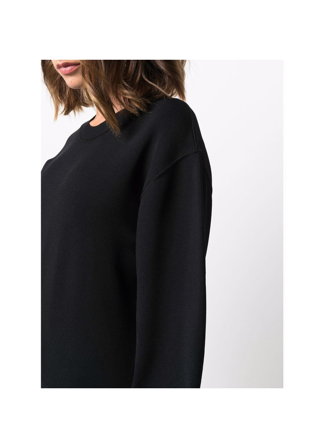 Punto Milano Knitted Jumper in Black
