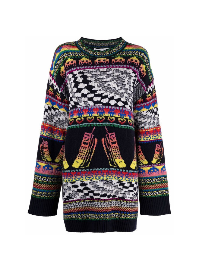 Oversize Knitted Sweater