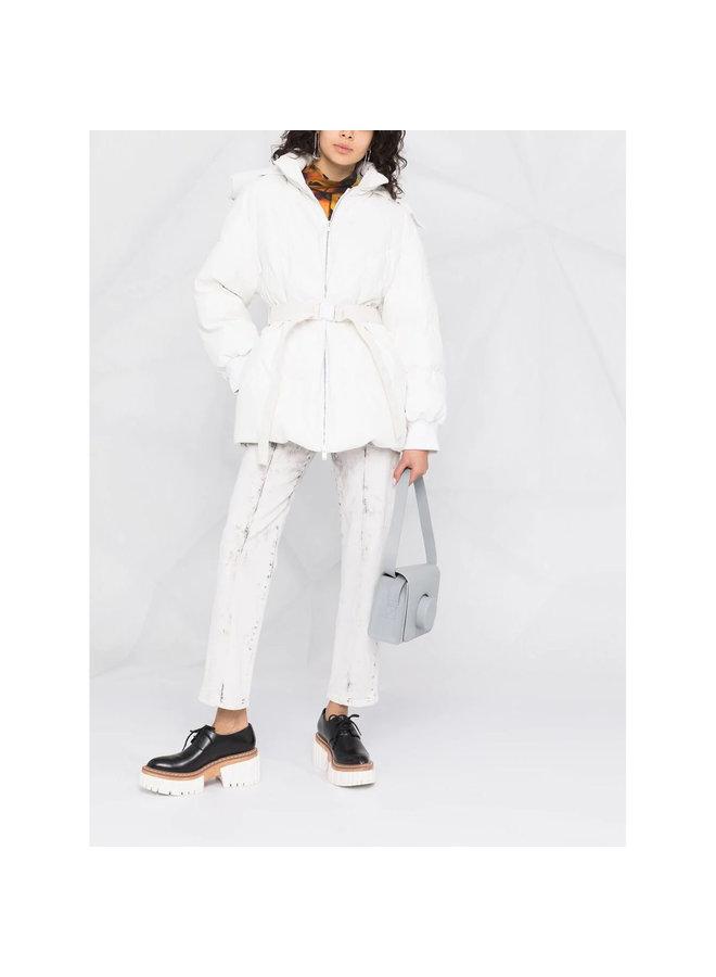 Kayla Padded Coat in Pure White