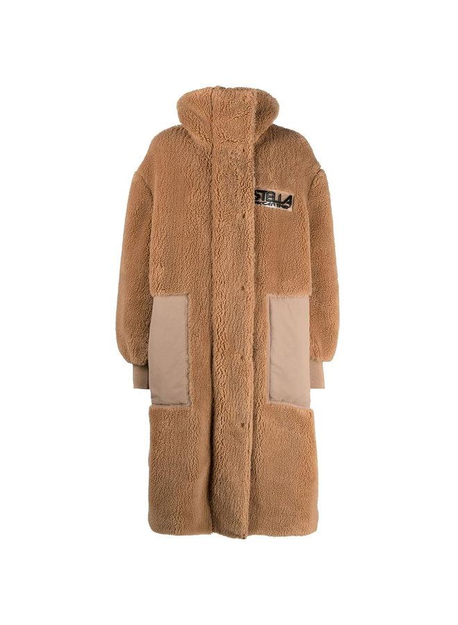 Luna Faux-Shearling Coat