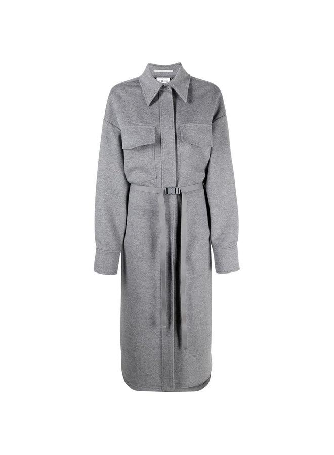 Linda Long Belted Coat