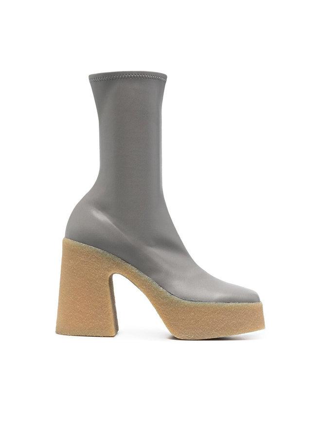 Skyla Stretch Platform Boots