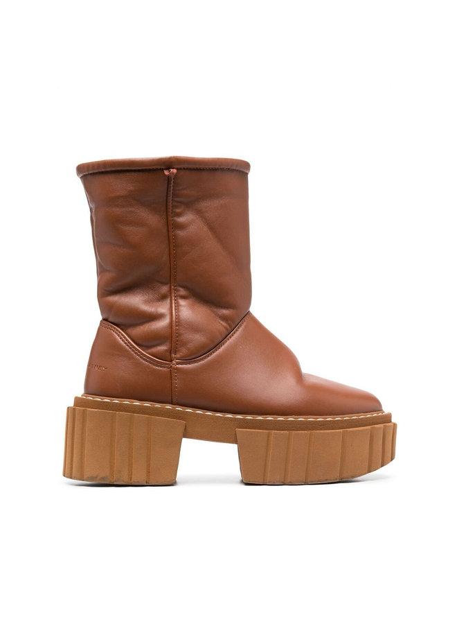 Emilie Platform Mid Heel Moon Boots