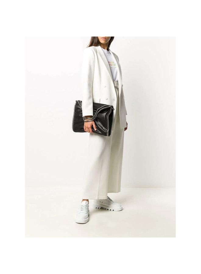 3Chain Large Falabella Shoulder Bag in Black/Silver