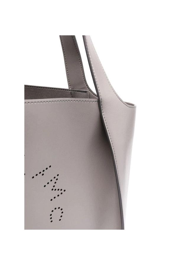 Logo Tote Bag in Smoke Grey