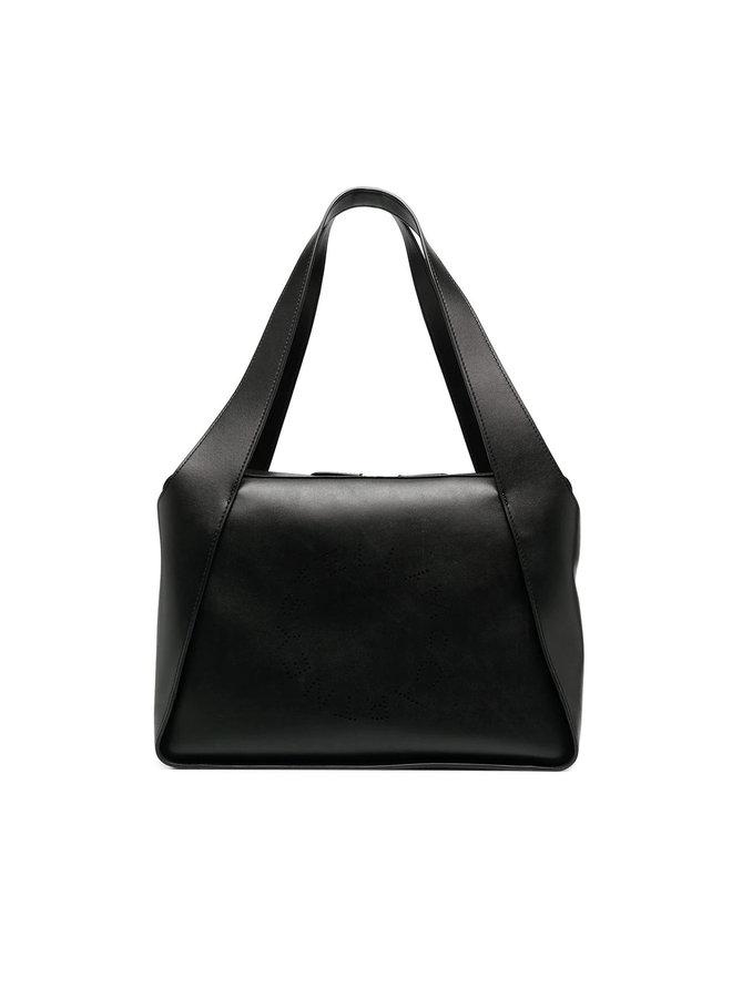 Zipped Logo Tote Bag
