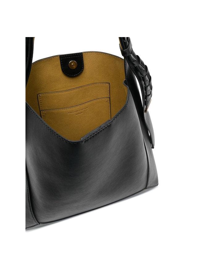 Hobo Medium Shoulder Bag in Black
