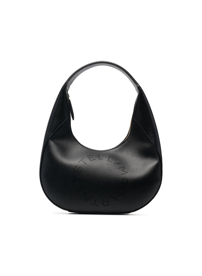 Small Top Handle Bag in Black
