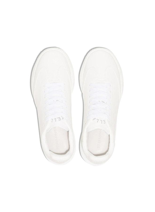 Loop Low Top Sneakers in Ecru