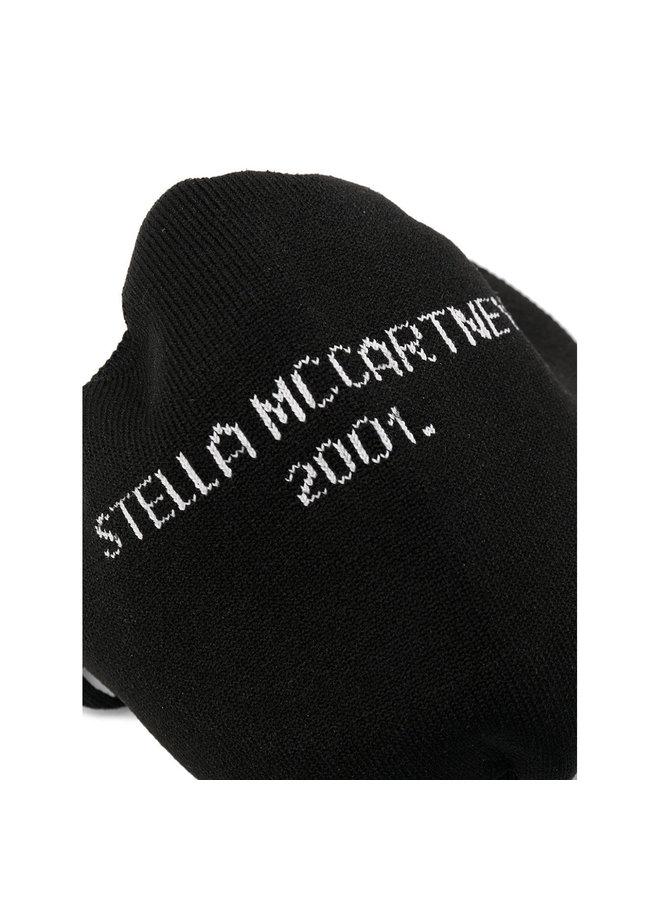 Logo Face Mask in Black