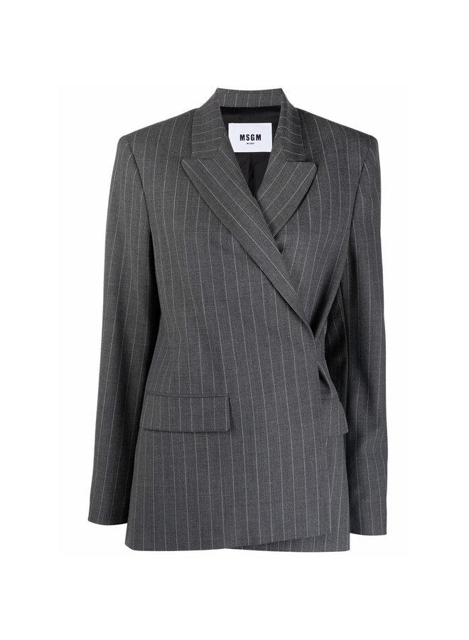 Stripped Blazer Jacket