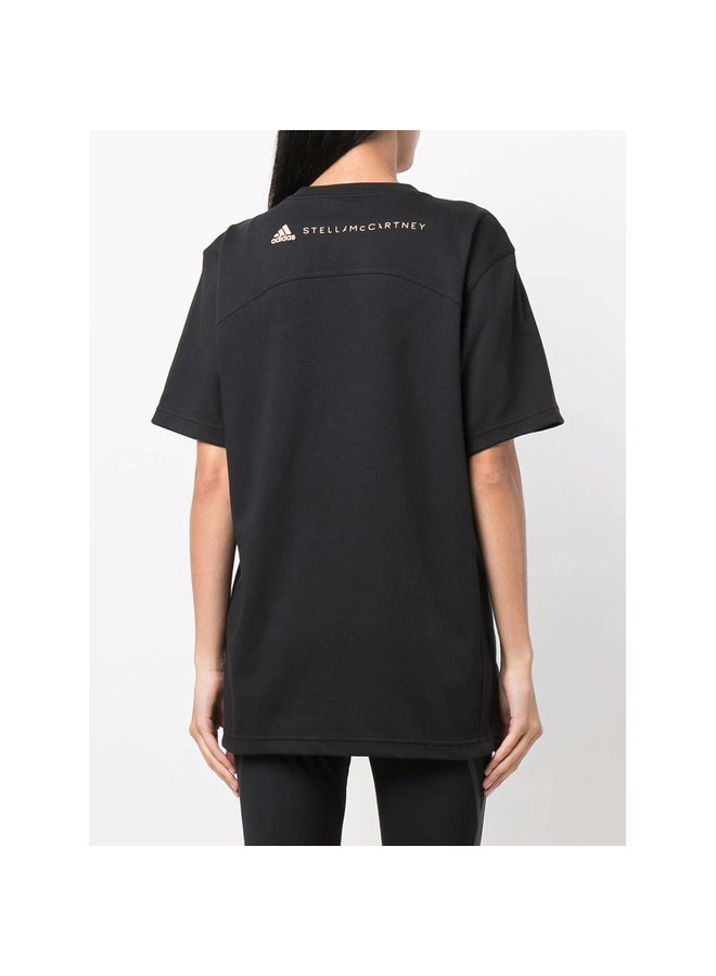 Short Sleeve Logo T-Shirt in Black