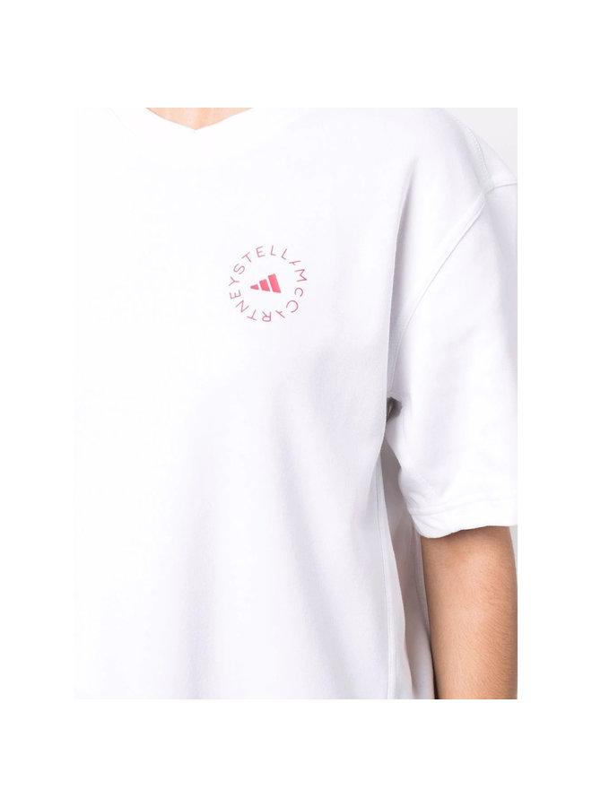 Short Sleeve Logo T-Shirt in White