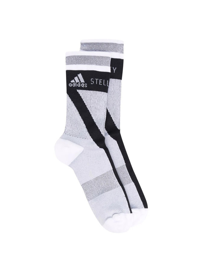 Logo High Knit Socks